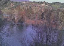 Pantano de Zahara de la Sierra, a 500 metros