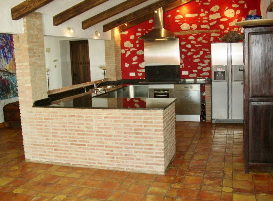 Gallery huerta la terrona holiday country home in grazalema for Cocinas abiertas al comedor