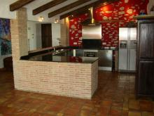 An open style kitchen, allows great family gatherings